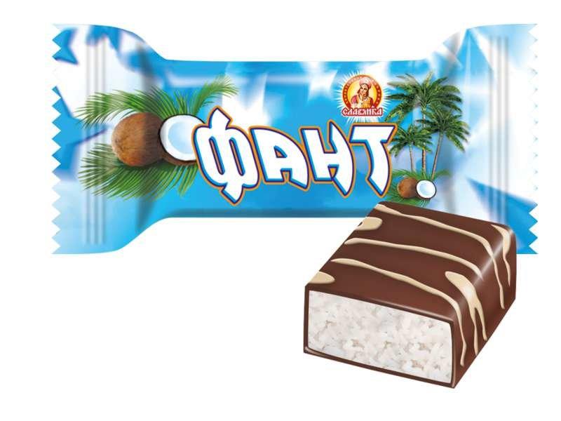 """Конфеты """"Фант с кокосом"""""""