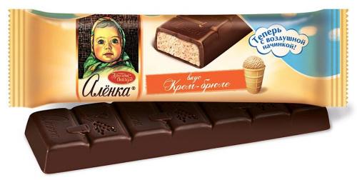 "Шоколад ""Алёнка с начинкой"""