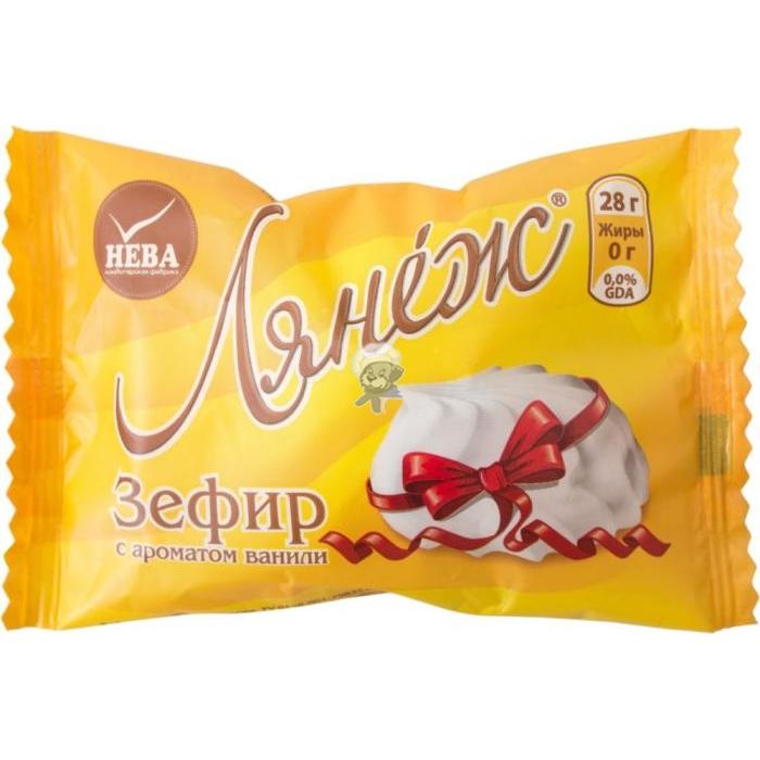 """Зефир """"Лянеж"""" (ванильный, ванильный в/ш, клюква)"""