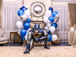 """Композиция из шаров """"Супергерои"""""""