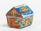 Сладкий подарок на Новый год в жести Ларец-Кладенец 500гр