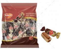 Батончики РОТ-ФРОНТ шоколадно-сливочный вк.