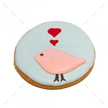 Влюбленный голубок