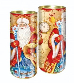 Подарок на новый год с конфетами Традиция