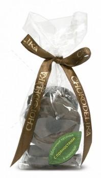 Яблочные кусочки в шоколаде с пряностями