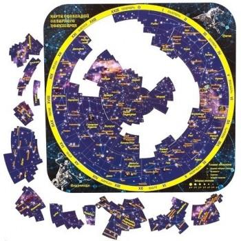 Магнитный пазл Карта созвездий