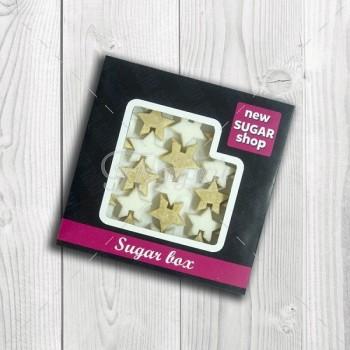 Sugar BOX - звёздочки - тростниковые