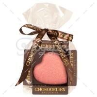Сердце в клюквенном шоколаде