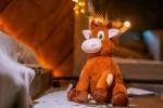 Новогодний подарок мягкая игрушка Теленок символ года 350 гр