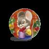 Сладкий подарок из шоколада Медаль - символ года 12 гр