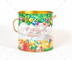 Новогодний подарок со сладостями Хрустальный дар