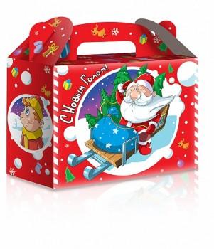 Новогодний подарок со сладостями Морозик