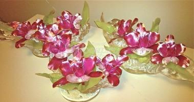 Орхидея Пинк трио