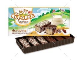 Вафельный торт Коровка(ассорти)