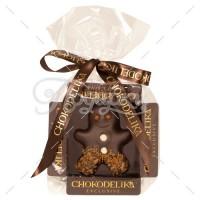 Человечек в темном шоколаде