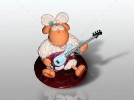 Овечка гитарист