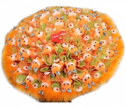 Букет из игрушек Летний Сад