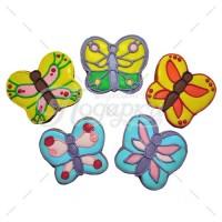 Большие цветные бабочки