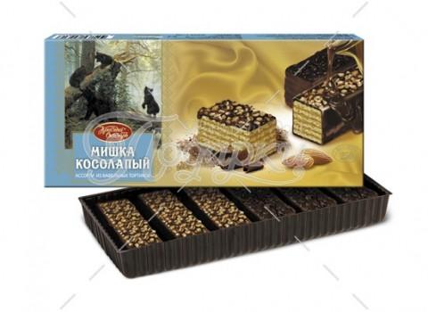Вафельный торт Мишка Косолапый