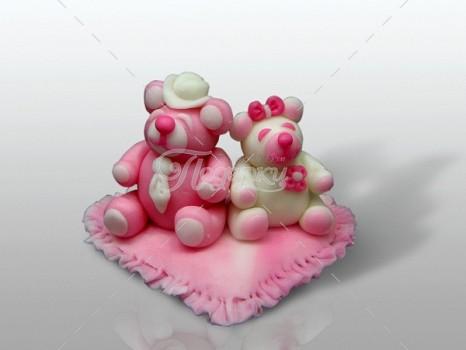 Влюбленные мишки