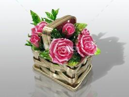 Корзина 5 роз