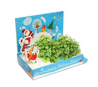 Живая открытка Зеленого Нового года