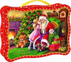 Новогодний подарок со сладостями Загадай желание