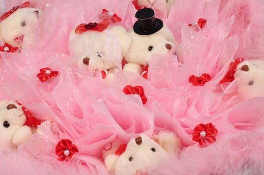Букет из игрушек Розовая Фантазия
