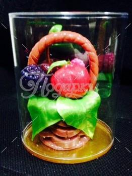 Корзинка мини с ягодами