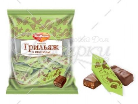 Грильяж в шоколаде