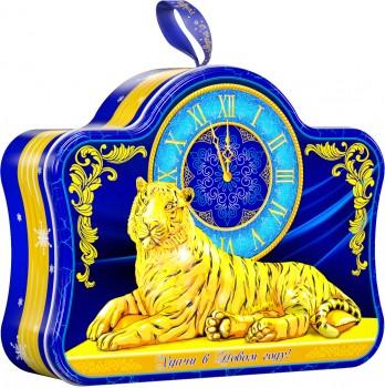 Сладкий подарок на 2022 год тигра Часы