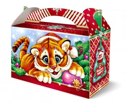 Сладкий новогодний подарок тигр Фокс