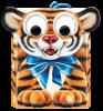 Новогодний подарок на год тигра Глазастик