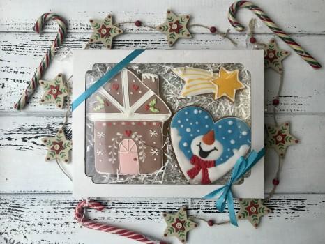 Набор пряников «Счастливый снеговик»