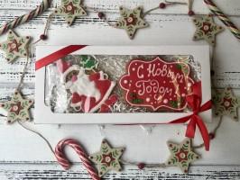 Набор пряников «Санта с Новым годом»