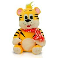 Новогодний сладкий подарок в мягкой игрушке Коготок