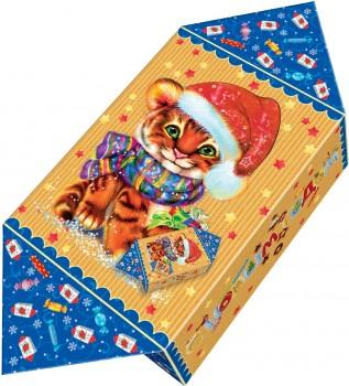 Сладкий новогодний подарок год тигра Конфетка Гаспар