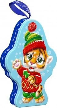 Сладкий подарок на новый год тигра Лапа