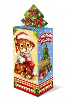 Сладкий новогодний подарок тигренок Луи