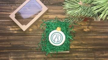 Штучные пряники с логотипом