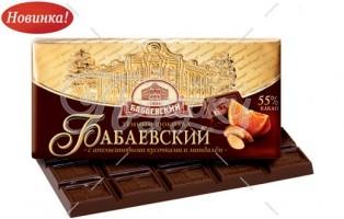 Бабаевский с апельс. кусочками и миндалем