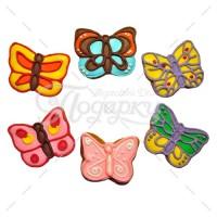 Маленькие цветные бабочки