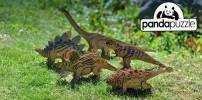 3D пазл Бронтозавр