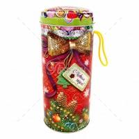 Новогодний подарок в жестяной упаковке Сладкий подарок