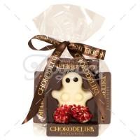 Человечек в белом шоколаде