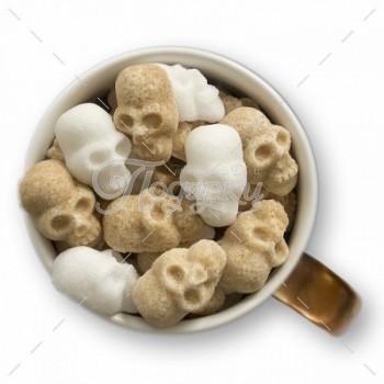 Сахарные черепа тростниковые