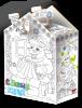 Новогодний Домик-раскраска с конфетами