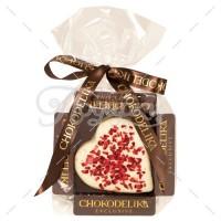 Сердце в белом шоколаде