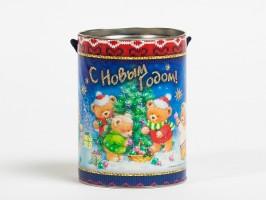 Новогодний подарок с конфетами Как мишки Ёлку наряжали