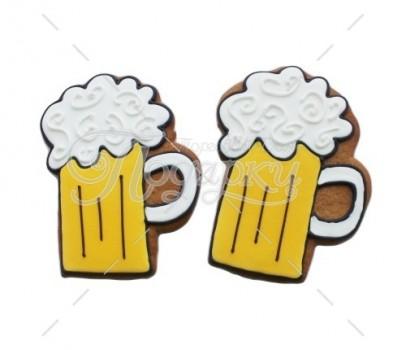 """Имбирный пряник """"Кружка пива"""""""